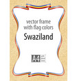 flag v17 set guyana vector image