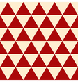 Red Yellow Triangle Background-01 vector image vector image