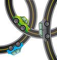 road concept design vector image vector image