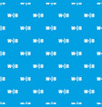 wifi pattern seamless blue vector image vector image