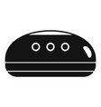 wireless smart speaker icon simple style vector image vector image