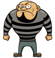 Cartoon Prisoner vector image