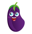 beet vegetable character cute icon vector image
