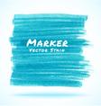 Blue Light Marker Stain vector image