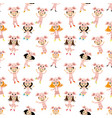 cheerful kids in piglet costumes vector image vector image