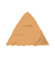 construction sand vector image
