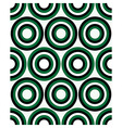 fashion geometrical pattern with circles vector image vector image