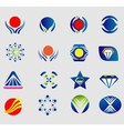 Logo set icon symbol element vector image vector image