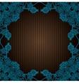 vintage flourish doodle frame vector image vector image