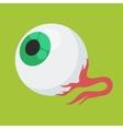 halloween eyes vector image