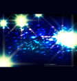 abstract background of white light beaming vector image vector image