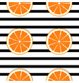 abstract orange seamless pattern background vector image