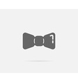 Barber Shop Bow Tie Element or Icon Ready for vector image vector image