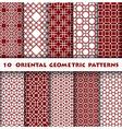 Oriental Geometric Pattern Style vector image vector image