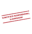 United Kingdom London Watermark Stamp vector image vector image