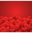 modern red valentines day or 8 march vector image