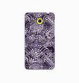 batik phonecase 14 vector image vector image