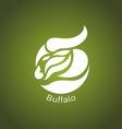 Buffalo logo vector image