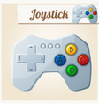 joystick cartoon vector image vector image