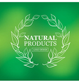 logo organic 08 vector image vector image