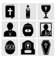 RIP Icons Set vector image