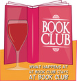 Stays At Book Club vector image