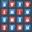 Fashion clothes for men vector image