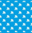 email pattern seamless blue vector image vector image