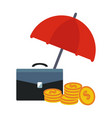 financial insurance vector image