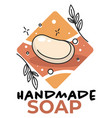 handmade soap classes or creative workshop hobby vector image vector image