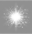 sparkles silvery background vector image vector image