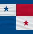 3 november panama independence day background vector image vector image