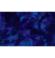 abstract background in dark blue tones vector image vector image