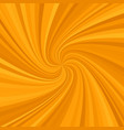 geometric spiral background from spinning rays vector image vector image