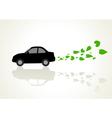 Go Green Car vector image