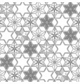 Graphic gingerbread pattern