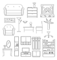 Interior Icons Line Set