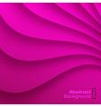 Purple Wavy background vector image vector image