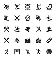 Sports and Games Icons 12 vector image