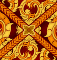Thai art pattern style vector image vector image