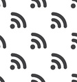 WiFi seamless pattern vector image vector image