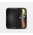 Wallet organizer mobile app icon vector image
