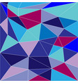 abstract low poly background triangles vector image