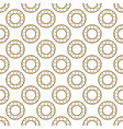 abstract textured circle geometric pattern vector image