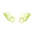 icon wing vector image