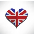 love flag london vector image vector image