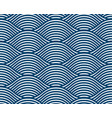 water waves seamless pattern curve lines abstract vector image