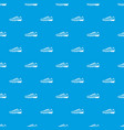 football boots pattern seamless blue vector image