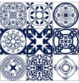 Moroccan tiles Seamless Pattern A vector image vector image