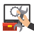 repair service vector image vector image
